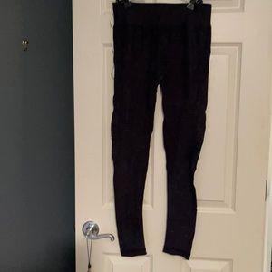 Dark blue/gray leggings